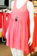 This salmon coloured, empire waist tank dress is fit for a princess. Dress $59.90